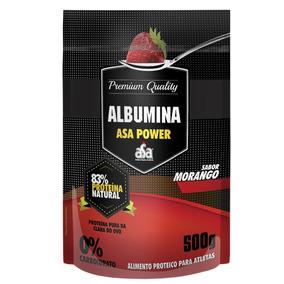 Albumina 500g Morango (83) - Asa Power