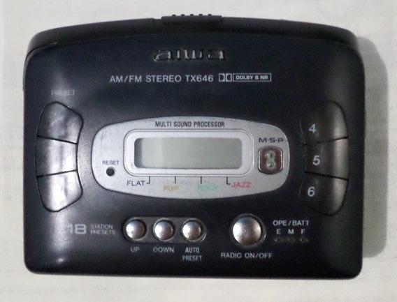 Walkman Aiwa ( Defeito )