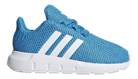 Tenis adidas Swift Run I Azul Bebe Cg6978