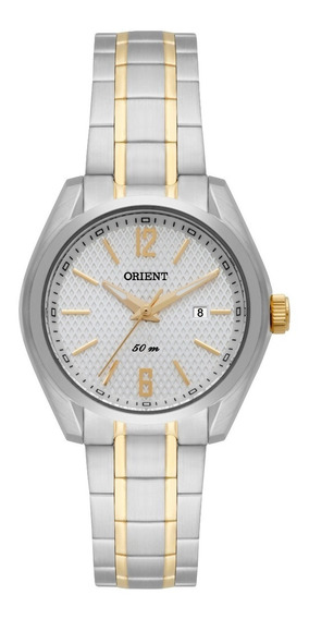 Relógio Orient Feminino Ftss1087 S2sk Misto Pequeno Oferta