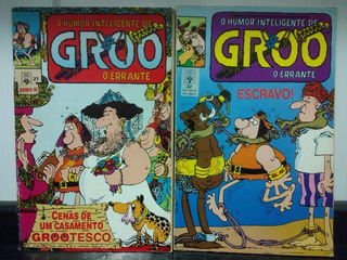2 Hq Groo, O Errante 21 E 22 + 02 Brinde - Abril 1992 Rjhm