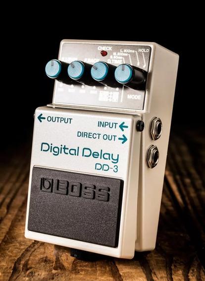 Pedal Boss Dd 3 Digital Delay Dd3 - Original