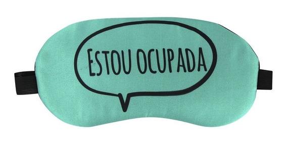 Máscara De Descanso Bolsa Térmica Termo Gel Viagem Dormir