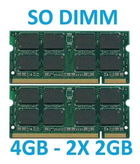 Memoria 4gb Apple Macbook Pro 17 Early 2008 2.6ghz + 256 Ssd