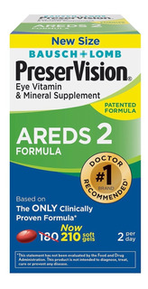 Preservision Areds 2 Eye Vitamin & Mineral Supplement 210cap