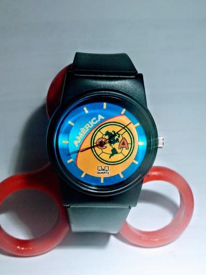 Reloj De Caballero Logo De El Equipo América Marca Qq