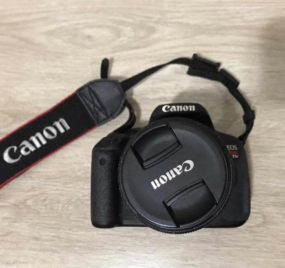 Canon T5i Com Lente 18/55