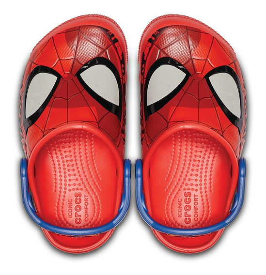 Zuecos Crocs Spiderman Luces / Brand Sports