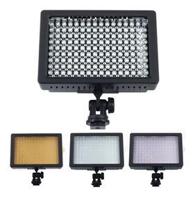 Iluminador Hd 160 Led Luminaria Canon Nikon Pentax Dsl