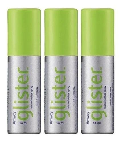 Refrescante 3 Unidad Bucal Spray Gliste - mL a $929