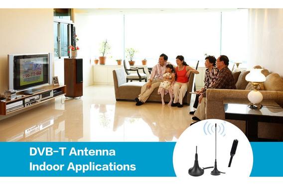 Antena Interna Canais Abertos De Tv Full Hd 1080p
