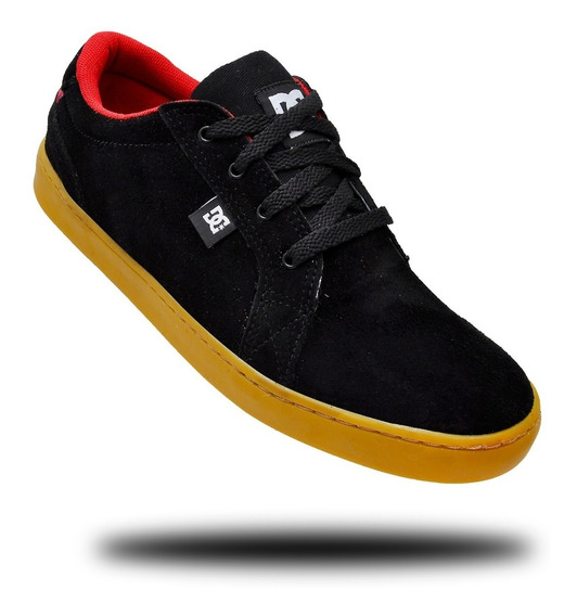 Tênis Dc Council Skate Leather Cano Baixo Masculinos