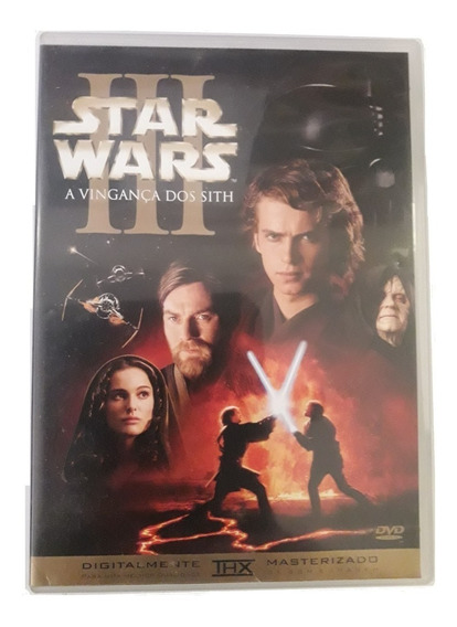 Dvd Star Wars - Episódio 3 - A Vinganca Dos Sith (duplo)