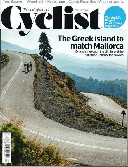 Revista Cyclist Inglesa - A Emoção Do Passeio Em Papel