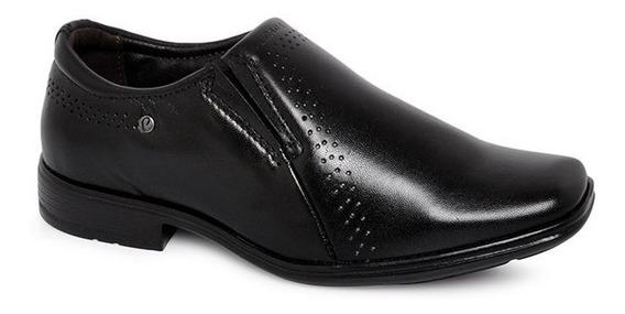 Sapato Infantil Pegada Couro 322314-01 Preto