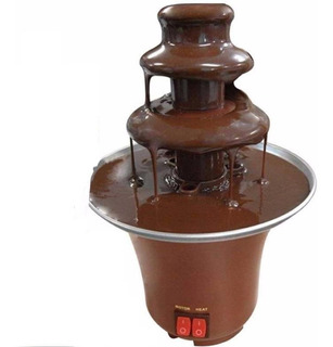 Máquina Fondue Profissional Chocolate Fonte Elétrica 220v