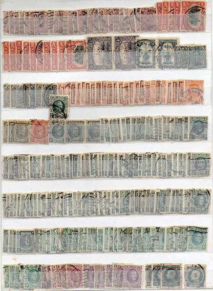 Bélgica 1893/1932. Lote Con 665 Sellos Antiguos, Usados