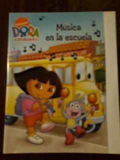 Dora La Exploradora Musica En La Escuela Dvd Original