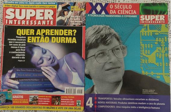 Lote Revistas Super Interessante - 10 Itens