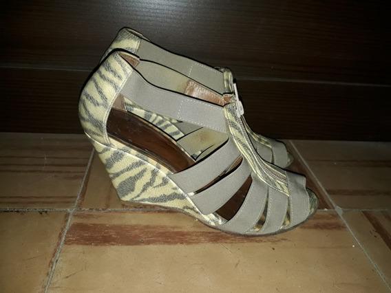 Sandalia Elastico Sandalias Talle 36 Mujer Calzado En Mercado