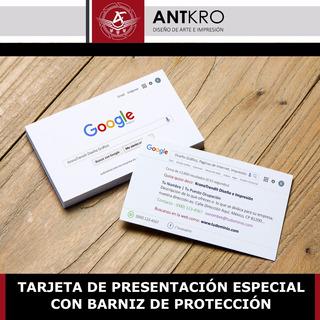 1000 Tarjetas De Presentación Estilo Google Envío Incluido