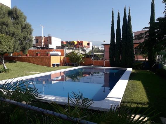 Casa En Condominio Amueblado Lomas Tzomplante 6000