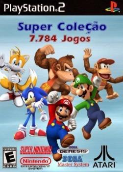 Jogo Ps2 Patch Coleção 7784 Jogos + Crash Bandicoot 3 Em 1