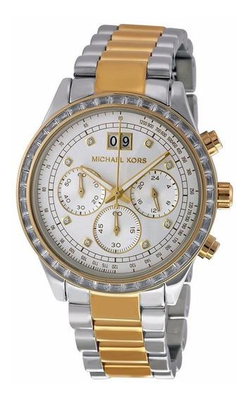 Relógio Michael Kors Mk6188 100% Original 2 Anos De Garantia