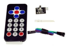 Controle Remoto Ir + Receptor Ir Para Arduino
