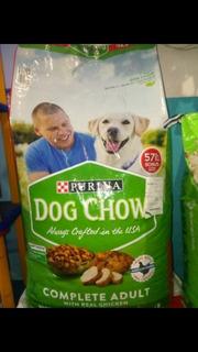 Perrarina Dog Chow 57lb . 25.9kg Importada