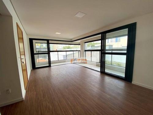 Apartamento Com 4 Dormitórios (3 Suítes), 139 M² - Á Venda Ou Aluguel - Jardim - Santo André/sp - Ap2851