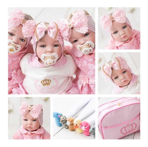 Imagem 1 de 6 de 3 Bebe Reborn Realista Real Promocao Frozen Mais Barato