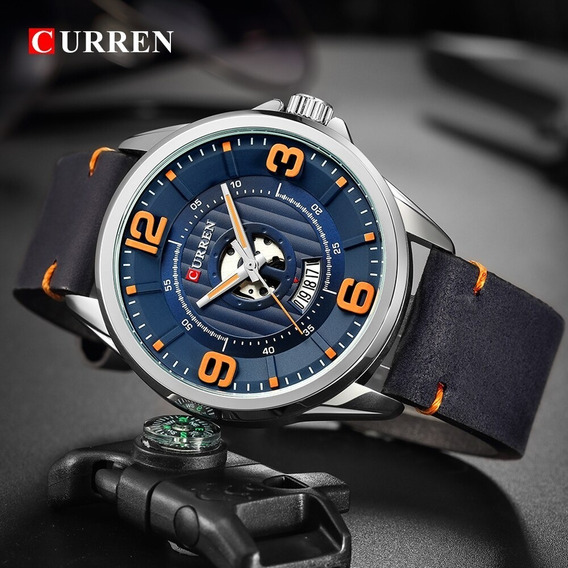 Relógio Curren 2 Pelo Preço De 1 Super Promoção!!!