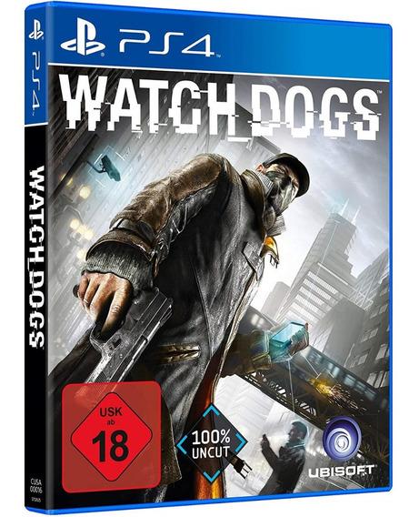 Game Watch Dogs Ps4 Disco Fisico Dvd Lacrado Novo Dublado Br