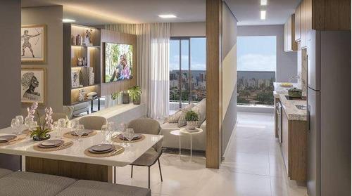 Imagem 1 de 30 de Apartamento Com 2 Dormitórios À Venda, 56 M² Por R$ 382.000,00 - Campestre - Santo André/sp - Ap12242