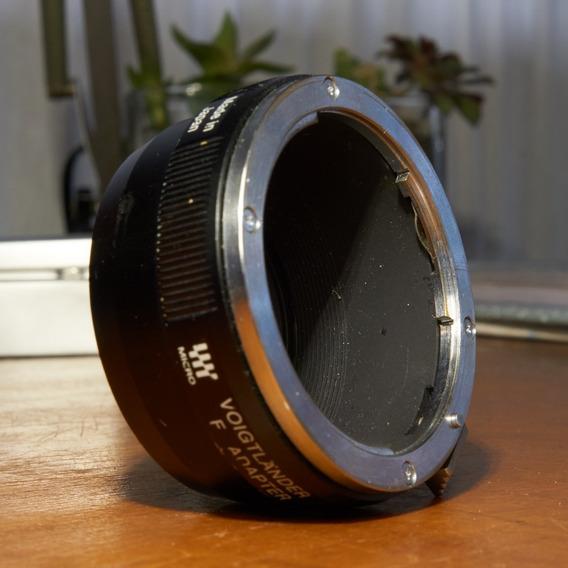 Adaptador Voitgländer M43 Para Nikon F