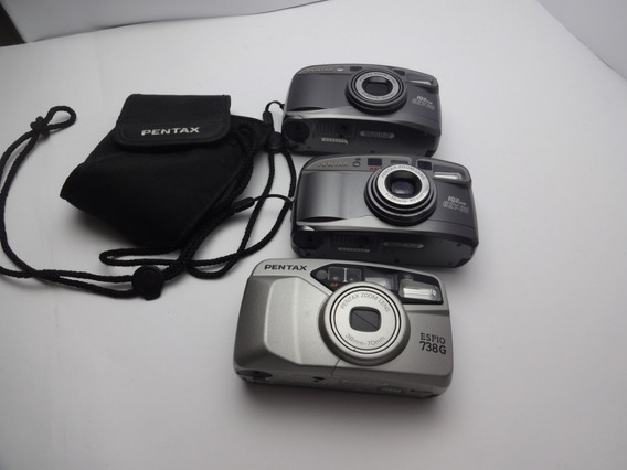 Câmeras Fotográfica Analógica Pentax 1 Espio E 2 738g Ezy 80