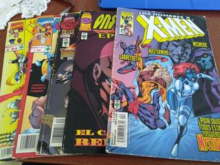 Pack X-men Cómics #4 #27 #30 #43 #64 Años 2000-2002 De Época