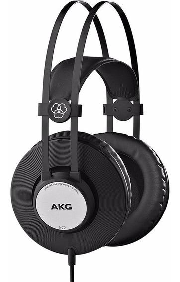 Fone Ouvido Akg K72 Profissional Estúdio Headphone Original