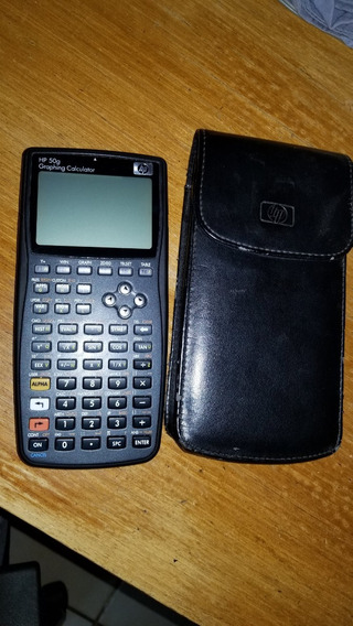 Calculadora Hp 50g (graphing Calculator) Semi-nova!