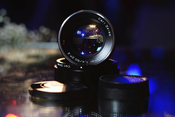 Lente Zeiss Planar T* 50mm 1.4 (+ Brindes) Nikon Sony Canon Fuji Blackmagic