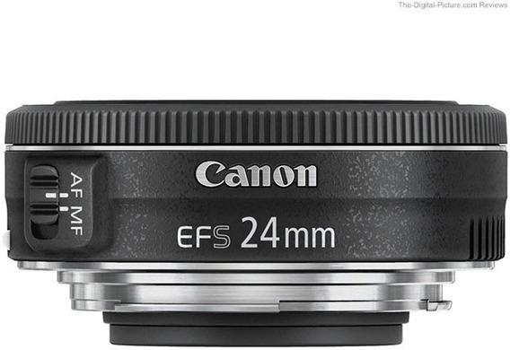 Lente Canon Ef-s 24mm F/2.8stm