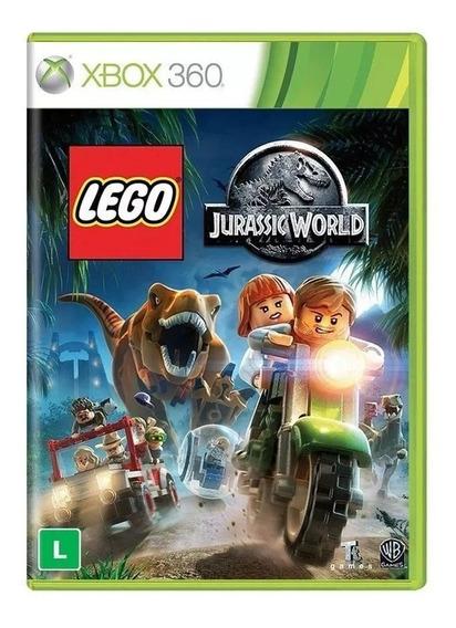 Lego Jurassic World Xbox 360 Português Mídia Física