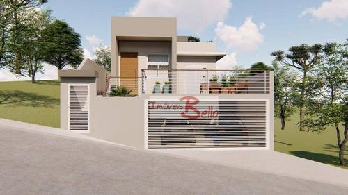 Casa Com 3 Dormitórios À Venda, 160 M² Por R$ 650.000,00 - Alpes Do Cruzeiro - Itatiba/sp - Ca1380