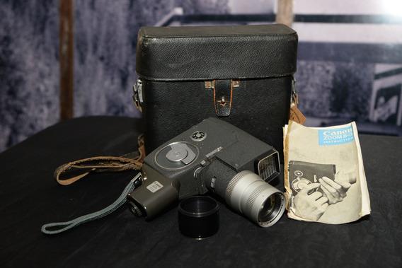 Câmera Filmadora Canon Zoom 8-3 (precisa De Revisão)