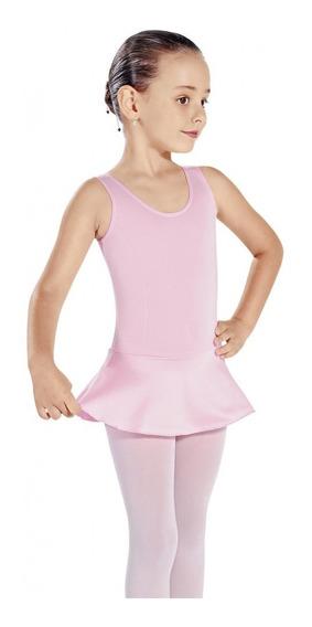 Collant Regata + Saia - Ballet Capezio - Adulto Tam 36 Ao 46