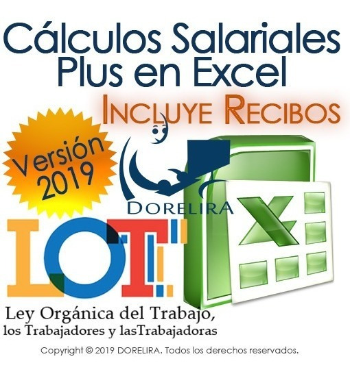 Cálculos Salariales 2019 Plus, Liquidaciones, Prestaciones
