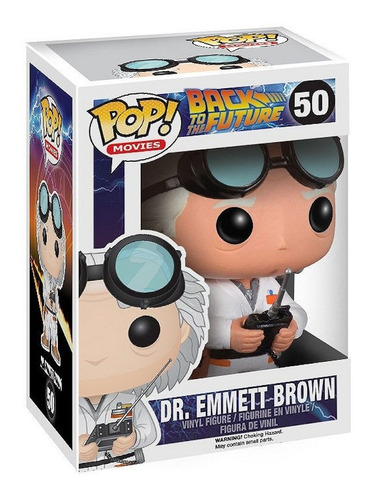 Imagen 1 de 2 de Funko Pop, Dr. Emmett Brown - 50 - Back To The Future