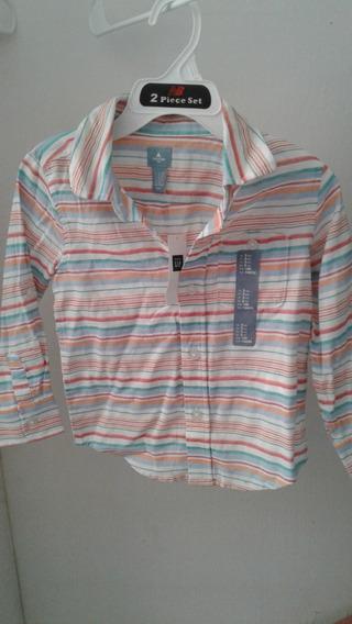 Camisa Niña Gap Talla 4 Años