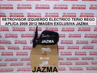 Retrovisor Izquierdo Electrico Terio Bego 2008 2012 Original